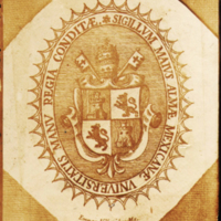Escudo de la Real y Pontificia Universidad
