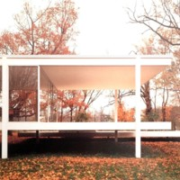 A1, Famsworth House Plano, Illinois (1951) Ludwig van der Rohe, architect