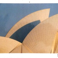 A32 Sunrise on the roof shells, Sydney Opera House, 1972